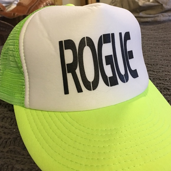 4e29c86fec70e Accessories - Gently used Rogue Fitness trucker hat