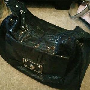 Soho Apparel Handbags - Sparkly black soho bag
