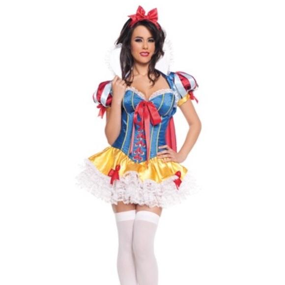 Other Disney Sexy Snow White Halloween Costume Poshmark