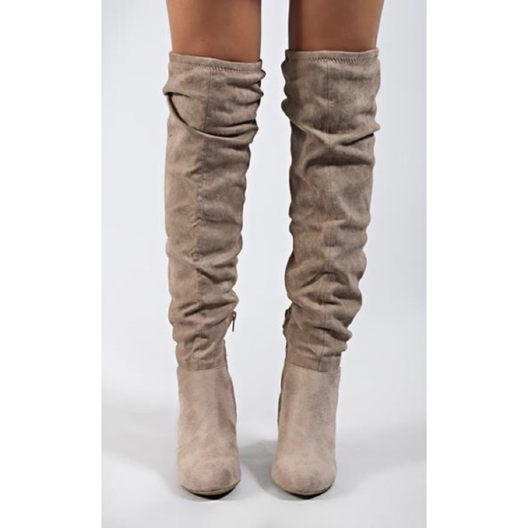 c88eee0a63928 Chinese Laundry Shoes - chinese laundry: upside tall boot - toffee suede