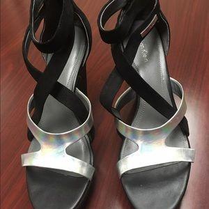 Calvin Klein platform shoes