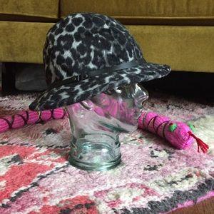 Eugenia Kim Genie Leopard Hat