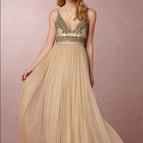 91a1d4263307 Anthropologie Dresses | Bhdln Needle And Thread Brisa Dress | Poshmark
