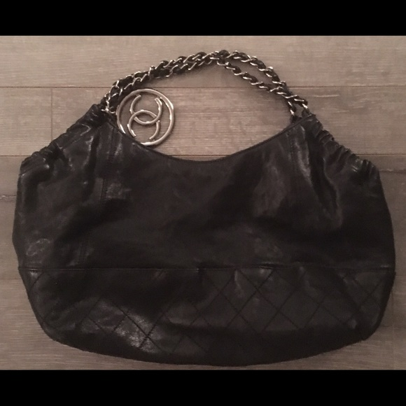 50798172a4fe 60% off CHANEL Handbags - SALE! Chanel Coco Cabas Black Leather Handbag  from Jeneration