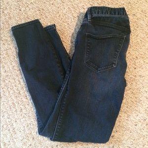Madewell Skinny Skinny Dark Wash Jeans, SZ 24