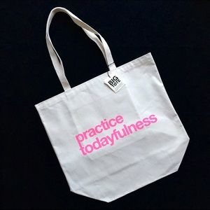 Huge Dogeared Practice Todayfulness Canvas Tote