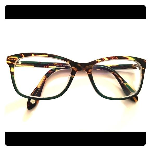 d094fa67d8c0 Fysh Accessories Tortoisedark Green Eyeglass Frames Poshmark