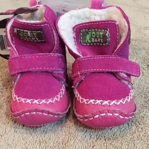 Other - Pink booties. Size 3-6 months