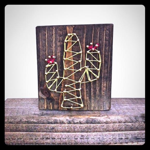 Nail String Art On Wood Nailarts Ideas