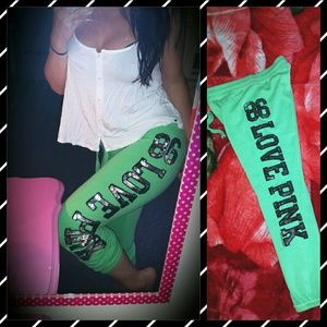 PINK Victoria's Secret Pants - VICTORIA SECRET PINK BLING CAPRI SWEATPANTS XS