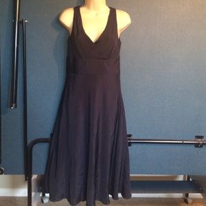 J crew new with tags navy size 4 100 silk sundress