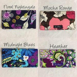 Vera Bradley Handbags - NEW WITH TAGS Vera Bradley Checkbook Covers