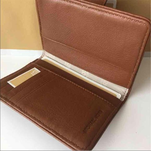 de8bd6330e83 ... Leather Carryall Wallet 32F2SFTE3L-001 148 MICHAEL Michael Kors Bags - Michael  Kors Fulton PassportCaseWallet-Luggage ...