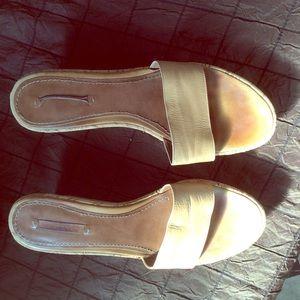 Nine West Sandals beige