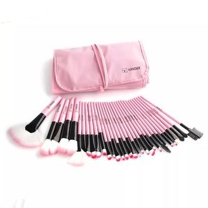 Other - Vander 32pc Profesional Pink Makeup Brushes
