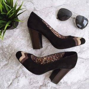 Missoni Shoes - NWOB Missoni for Target black & brown suede pump 7