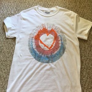 Tops - Spin-art painted t-shirt NWOT