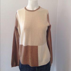 Valerie Stevens 100% cashmere sweater size medium