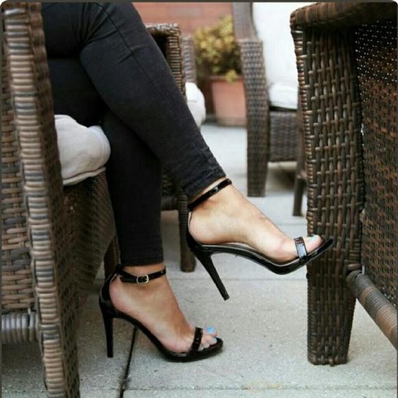 ebf791927ff3 BRASH Black Kailey ankle strap pump!