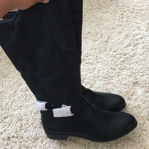 53fa47810bb1 Style   Co Shoes - New in box Style Co Black Wide Calf Boots Size 7.5