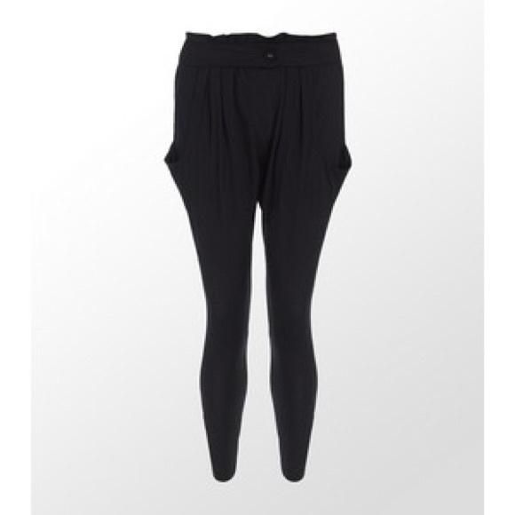 purchase cheap 2b491 e988d Adidas Pants - Adidas black harem pants