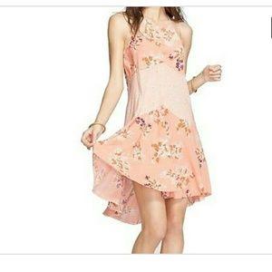 Free People floral peach dress 🌸sale🌸