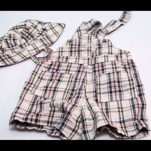 Children's Place Other - Designer styled short coveralls and hat