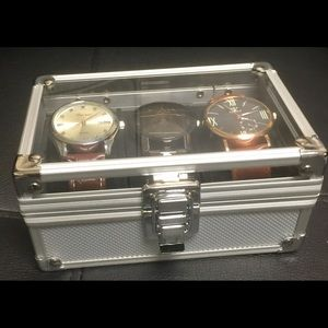 Other - Three New Watch bundle with case.