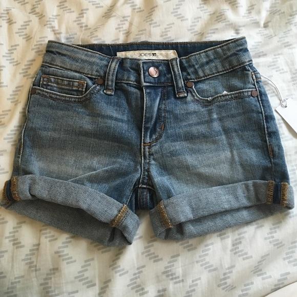Joe's Jeans - JOE'S Girls Size 4 Denim Shorts from Melissa's ...
