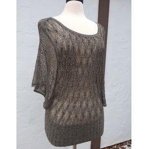 Arden B Sweaters - Beautiful Arden B Open Weave Dolman Sweater
