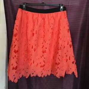 Xhilaration pink skirt size XL