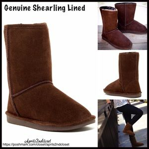 BP Nordstrom Brand A Bound Shoes - ❗1-HOUR SALE❗GENUINE SUEDE BOOTS Shearling Lined