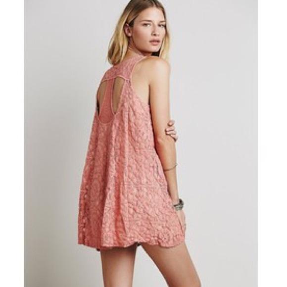 Free People blush wallflower tent dress  sc 1 st  Poshmark & 77% off Free People Dresses u0026 Skirts - Free People blush ...