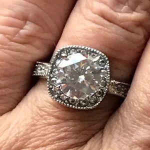 Jewelry - 3Carat Round Halo
