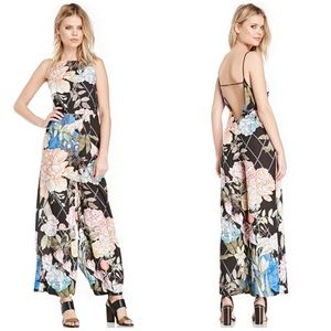 Keepsake Pants - Keepsake The Label Floral Backless Jumpsuit