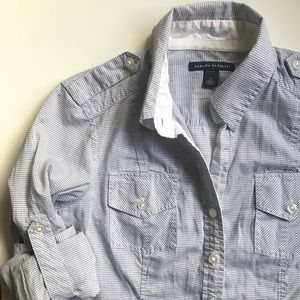 BR Military-Inspired Button Down