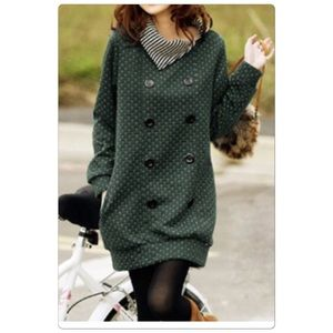 Tops - Cute Long Sleeve with multiple button