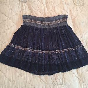 Ecote Printed Skirt