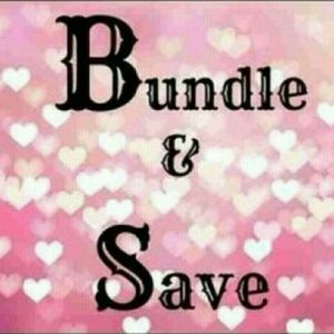 Bundle 2 or more items and get 15% off!