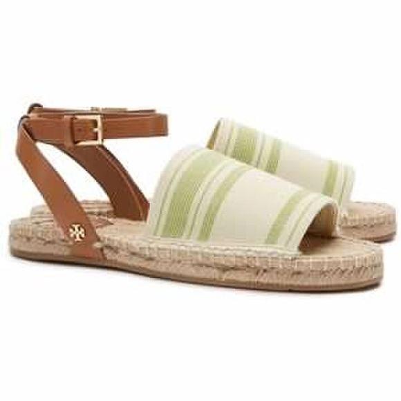 90ca6327e ⚡️HP⚡️NWT Tory Burch Stripe Espadrille Sandals