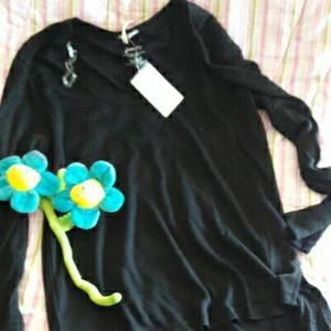Other - 🌹 Girl long sleeve black Shirt🌹NWT
