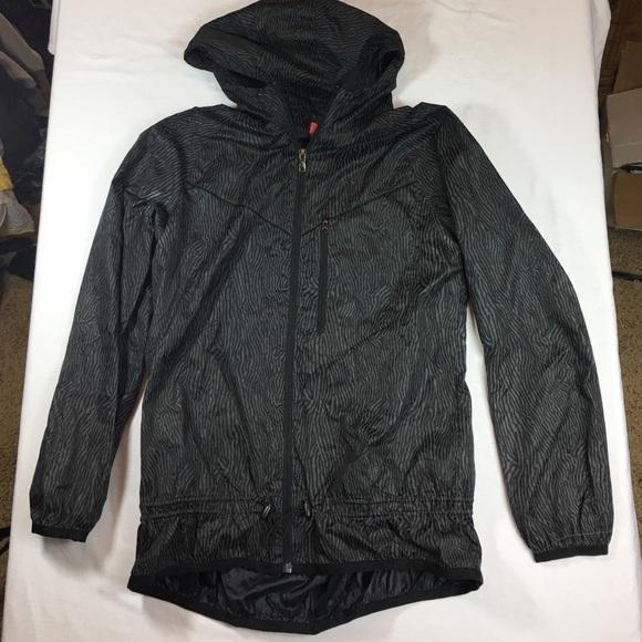 6f7f05ff85 Nike zebra print reflective windbreaker jacket. M 58094010c28456d480005798