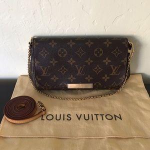 Authentic Louis Vuitton Monogram Favorite PM