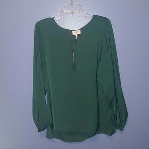 Laundry by Shelli Segal Tops - Green Blouse!!