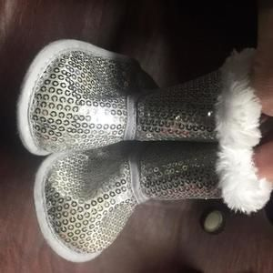 Other - Sequin Fur Boots