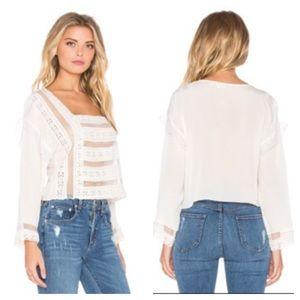 Tularosa Tops - TULAROSA NWT LOLA blouse size small