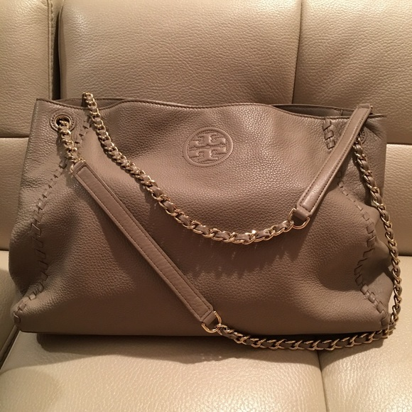 7e4520b212ea Tory Burch  Marion  Leather Slouchy Tote. M 580957484225bee00300909f. Other  Bags you may like
