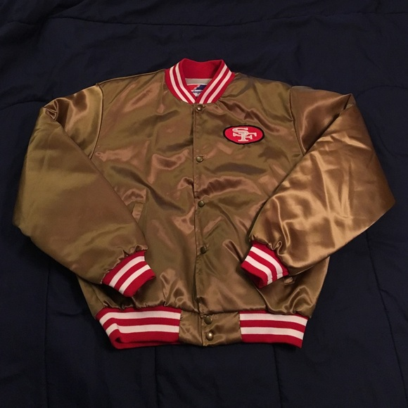 5d2d9031 Vintage San Francisco 49ers bomber jacket L