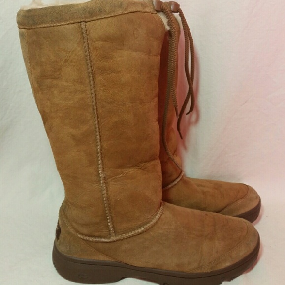 cad4a54f013 Womens UGG Ultimate Tall Sheepskin Boots Size 8