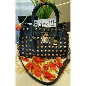Michael Kors Handbags - Authentic Michael Kors ✨RARE✨ Studded Hamilton
